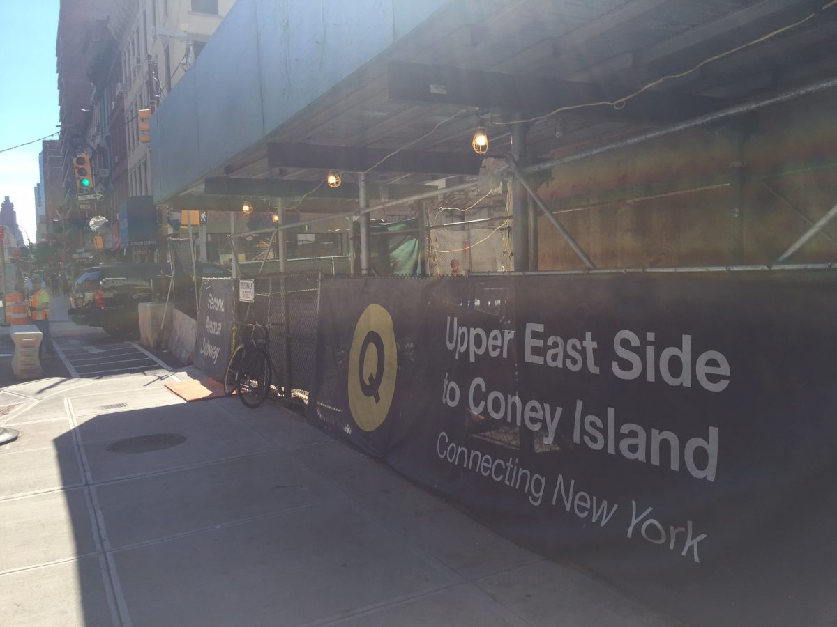 The Second Avenue Subway
