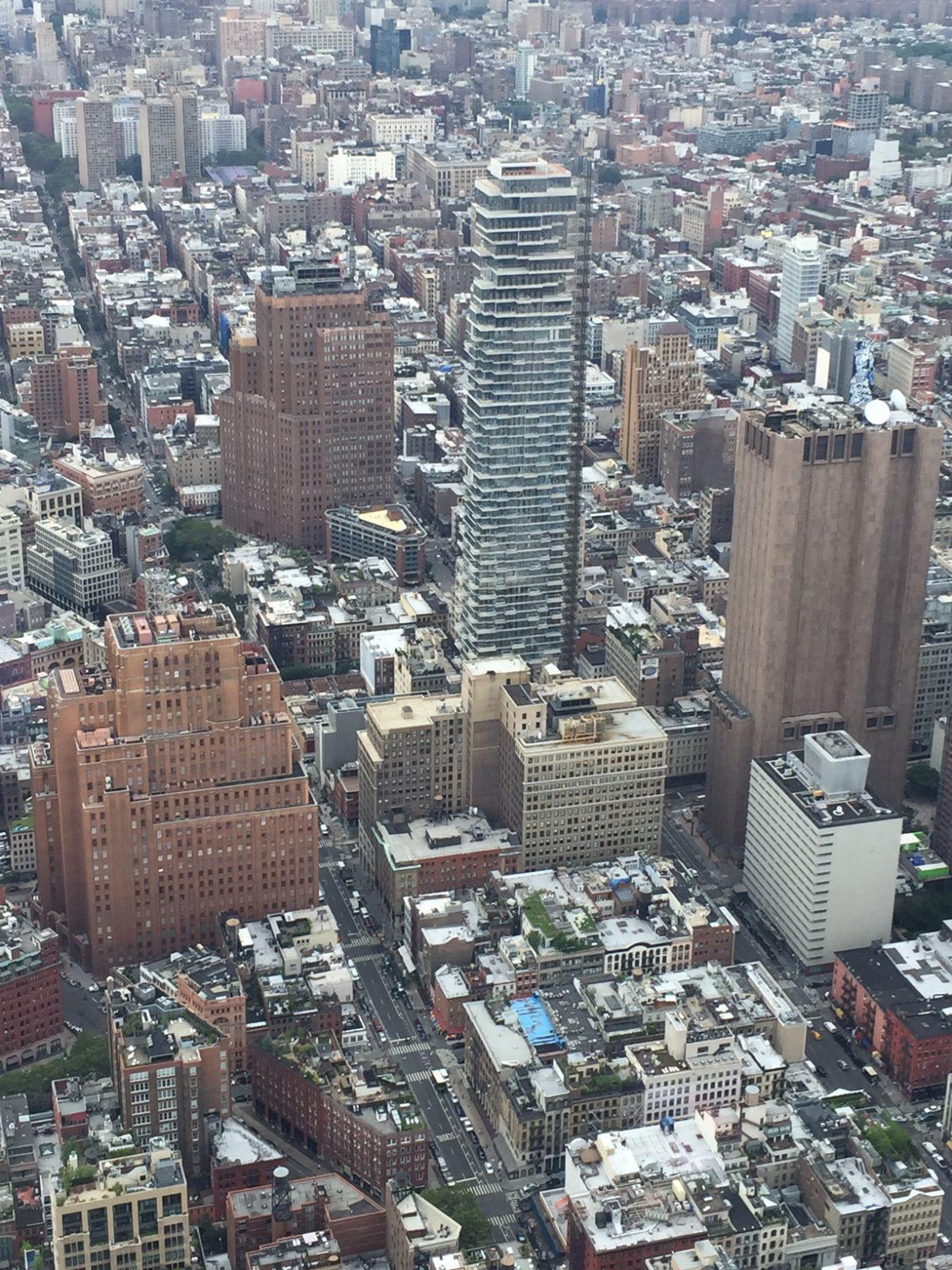 The Grid of Manhattan
