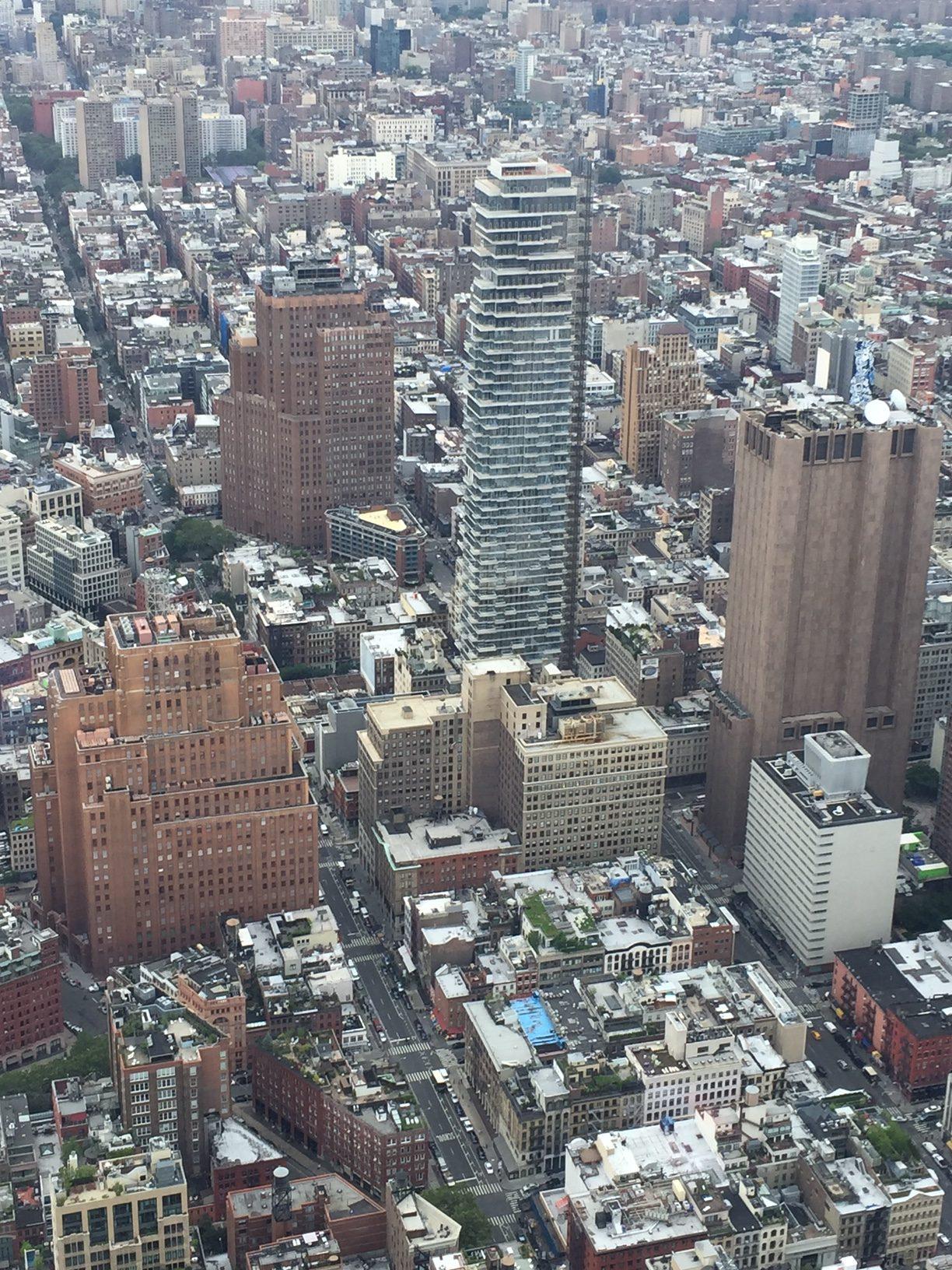 The Grid Of Manhattan Sights By Sam
